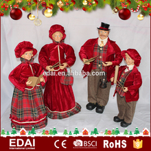 New europe 68CM plastic family set Christmas Church plush stuffed <strong>toy</strong>