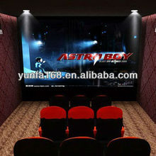 Stimulator Entertainment 7D Cinema attraction with theater furniture 5d Cinema Manufacturer