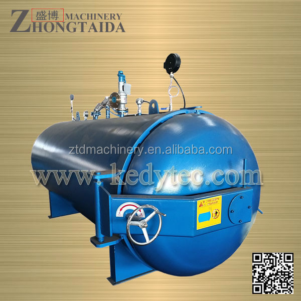 Vulcanizing Rubber Curing Press