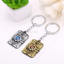 Wholesale New Game Hearthstone Heroes of Warcraft Arena Key Pendant Keychain