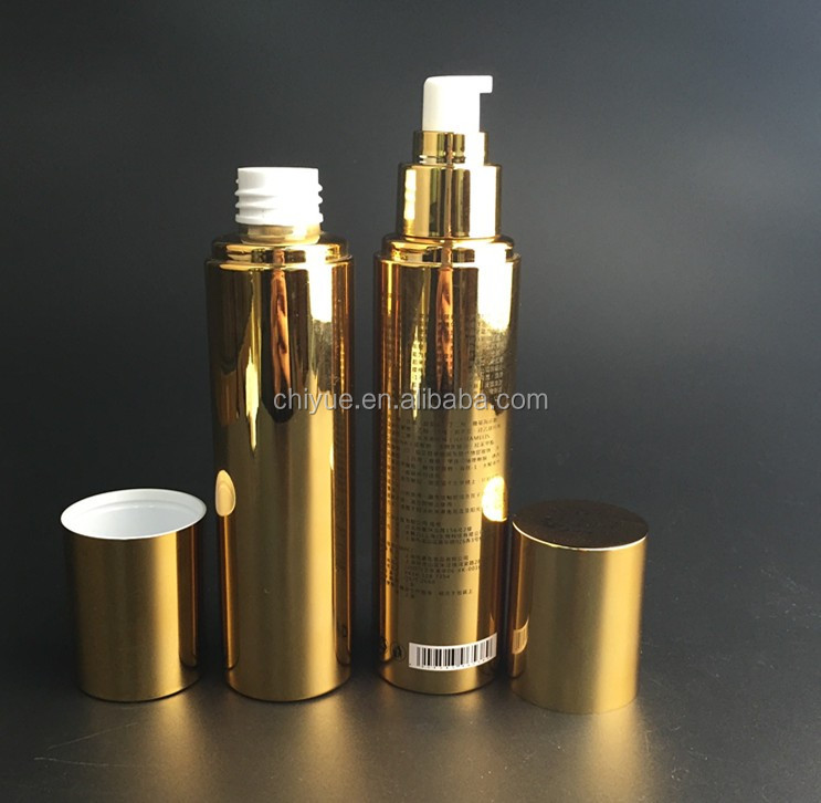 Alibaba Express Turkey Luxury packaging airless bottle