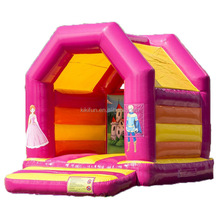 Common kids outdoor indoor inflatable bounce house bouncer bouncy jumping castle for sale