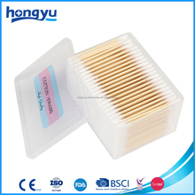 Medical Basic Tools Bamboo Stick Cotton Swab Container