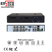 H.264 Digital Network Security System HD DVR Manual 1080P HD Cctv Camera with DVR 8Channel Oem
