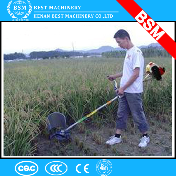 Diesel type small hand paddy cutter/rice paddy cutting machine price