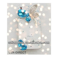 FOR APPLE i PHONE 4, 4S, 4G LUXURY HANDMADE 3D DIAMOND CRYSTAL BLING CASE FOR iPhone 5
