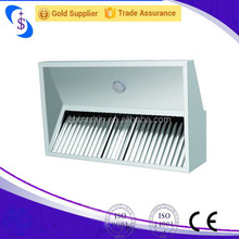 Malaysia Kitchen Island Range Hood for Restaruant Manufacturer/Stainless Steel Commercial Two Sides Kitchen Hood Price