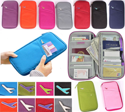 Travel organizer wallet/ travel document wallet/ travel ticket wallets