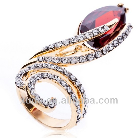 Hot sale!!! factory directly sale and wholesale fashion strange ring for women