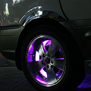 Chevrolet Aveo Wheel Neon LED Lighting Diy Kit (Red.Pink.Blue.White) GM