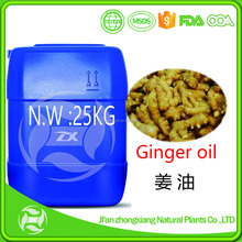 100% Pure Ginger Essential Oil Aromatic Oil China Ginger Oil Best Price