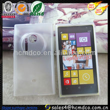 2013 New Frosted Transparent Soft rubber cases For Nokia Lumia 1020
