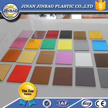 factory supply 2mm colour mirror perspex sheet