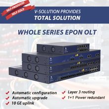 Whole Series EPON OLT with 2 4 8 PON Ports High Performance Layer 3 Switching Fast ONU Register WEB CLI EMS Management