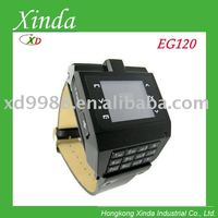 EG120 watch mobile phone with Numeric keypad FM Camera 1.5