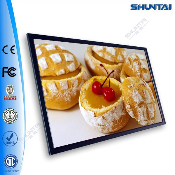 China Exporter Picture Clip LED Illuminated Slim Light Box Menu