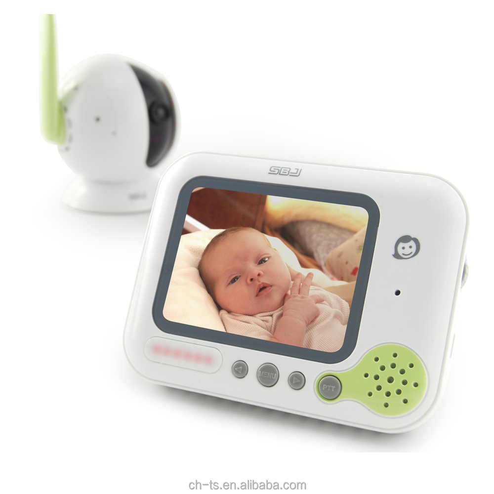 3.5inch lcd night vision digital infrared cmos camera monitor wireless baby video monitor