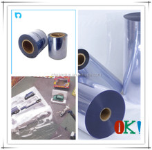 anti static rigid clear film blue real film
