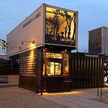 Shipping container house convenient transportation villa hotel housing construction low price