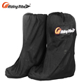 Motor Bike Racing Riding Boots B1004 Black Mens Boots Motorcycle