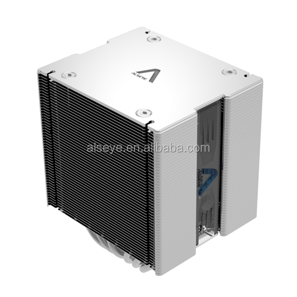 Alseye AB302w manufacture Wind Cube pro silent 120mm dc cooling pc cpu cooler fan