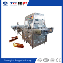 Multi-function candy biscuit chocolate enrobing syrup machine