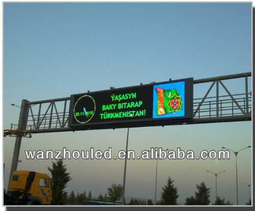 high way Excellent Image led display screen!!!!!Outdoor P10 DIP LED Display Screen