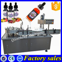 Trade assurance automatic ejuice filling machine,30ml e-cig oil filling and capping machine