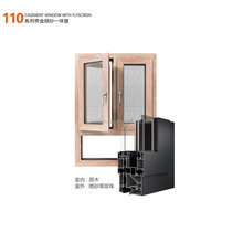 Building construction material 110 casement aluminum window insect mesh