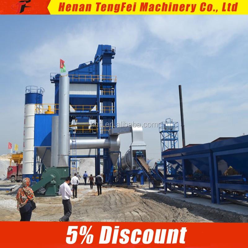TF High Efficiency Stationary Asphalt Emulsion Plant for Road Construction