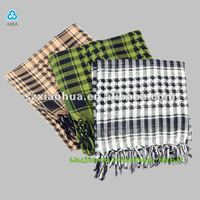 Fashion 100% viscose square arab scarf for women XV-48