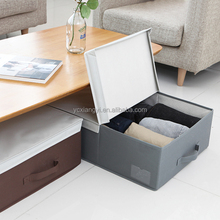 Collapsible Fabric Storage Box Under Bed With Lid