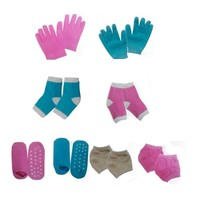 Moisturizing Gel Gloves, Socks for Heels and Elbows Beauty Care