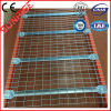steel mesh deck storage metal wire deck shelving for pallet racking
