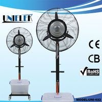 220v Industrial water mist fan Super Water Tank Outdoor cooling fan for Cafe/Warehouse