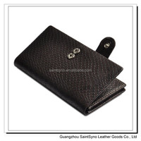 11010 China quality Leather men wallet genuine credit card holder