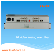 Mini 16 Channel Audio / Video Over Fiber Transmitter And Receiver,fiber Optic Audio Video Transmitter Receiver