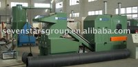 larger calibre PE/PVC pipe crusher/PE pipe recycling machine