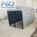 Hot dipped galvanized 1.8x1.2m Dog Kennels
