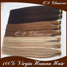 Double Drawn Big Factory Wholesale 0.8g 1.0g Ombre I Tip Hair Extensions