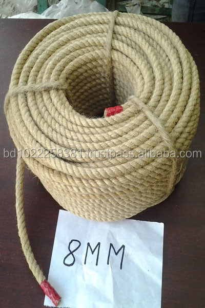 Exporting of Jute Rope, Burlap Rope & Coir Rope & so on from Bangladesh.