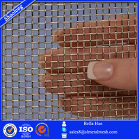 8 Mesh Stainless steel T304 bullet proof screen.028 48