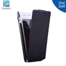 Cell Phone Case Wholesale For Sony Xperia M Supper Flip Slim Leather Case Cover