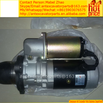 pc380lc-6,pc340lc-6,pc300lc-6 starting motor 6742-01-4240 for engine sa6d114