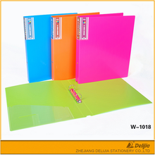China made customized logo office stationery a4 hardcover file folder