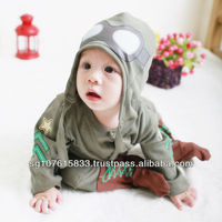 Wholesale Lliy-lovely 100%cotton baby cool costumes/baby pilot #hy106