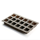 Customized 18 hole hollow square high quality silicone ice cube ice tray