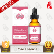 OEM Manufacturer Supply Rose Vitamin C Essence Whitening & Lightening Skin
