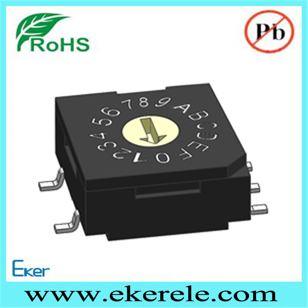 R9S 20000 steps flat rotor mini rotary switch
