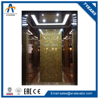 high speed small shaft commercial elevator